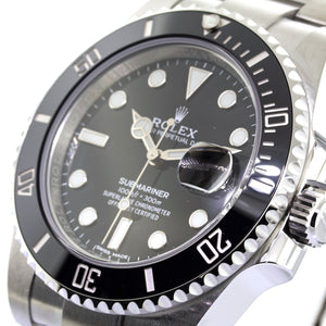 Rolex Stainless Steel Submariner with Date 40mm Black Dial 116610ln-Da Vinci Fine Jewelry