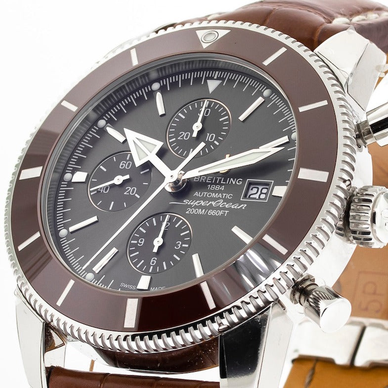 Breitling Superocean Heritage 46mm Stainless Steel Copperhead Bronze Dial-Da Vinci Fine Jewelry