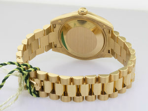 Rolex Datejust 31mm Yellow Gold Mother of Pearl Diamond Dial 178278MDP-Da Vinci Fine Jewelry