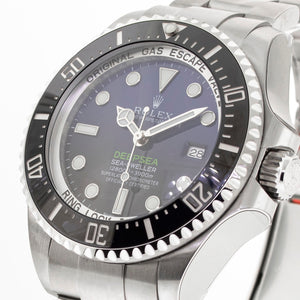 Rolex Sea-Dweller Deepsea 44mm Stainless Steel D-Blue James Cameron Dial 116660-Da Vinci Fine Jewelry