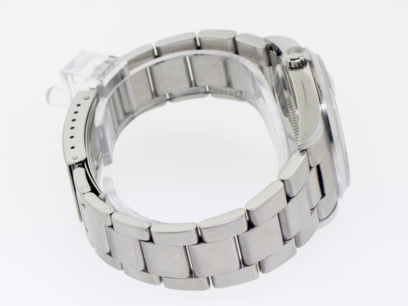 Rolex Datejust Stainless Steel 36mm Oyster Bracelet Black Dial 16200-Da Vinci Fine Jewelry