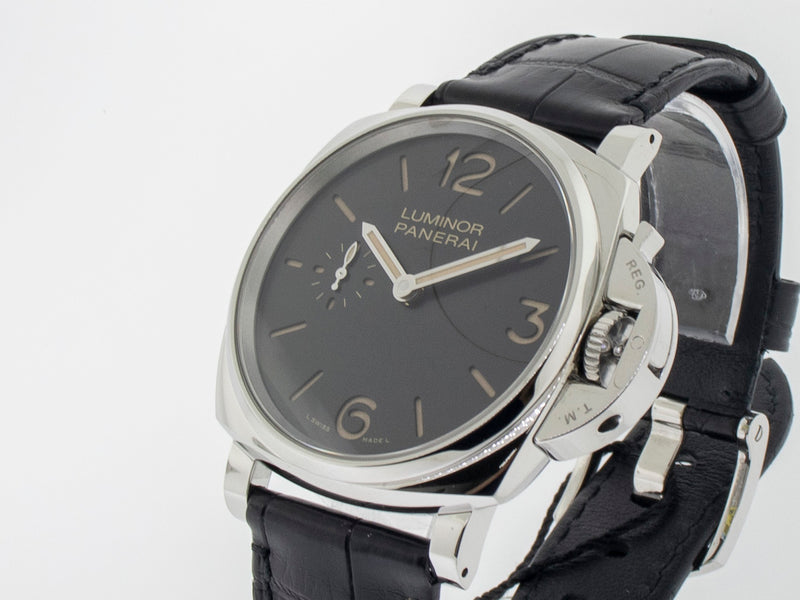 Panerai Luminor Due 3 Days Acciaio 42mm Watch Pam00676-Da Vinci Fine Jewelry