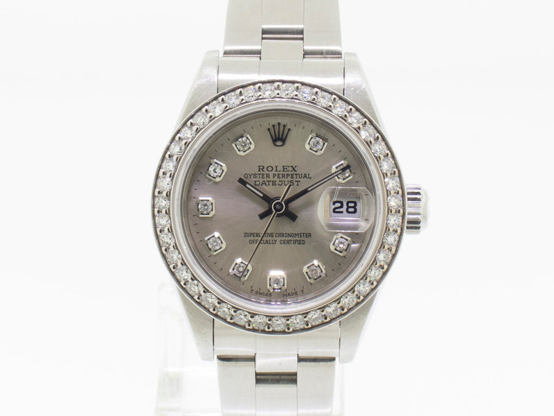 Rolex Datejust Lady 26mm Diamond Dial and Diamond Bezel 69160-Da Vinci Fine Jewelry