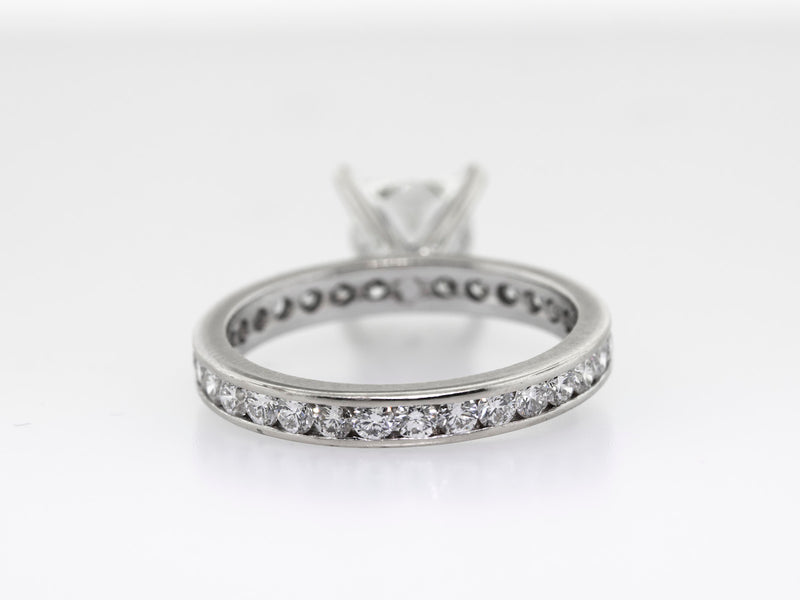 2.01ct Princess Cut Engagement Ring GIA Certified Ring H/VS1 18k White Gold-Da Vinci Fine Jewelry