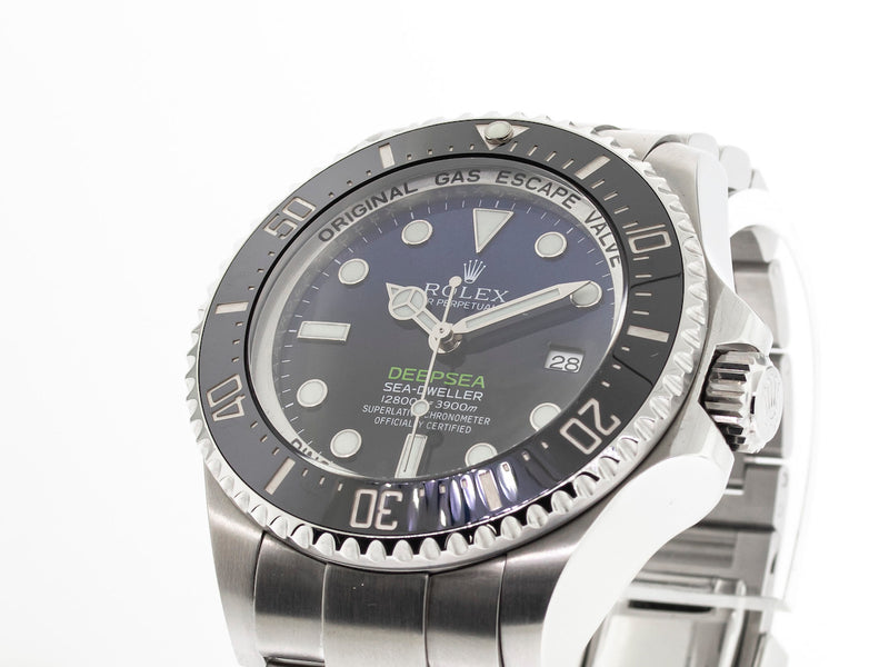 Rolex Sea-dweller Deepsea 44mm D-blue James Cameron Dial 116660-Da Vinci Fine Jewelry