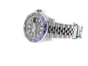 "Rolex GMT-Master II ""Batman"" 40mm Stainless Steel Black & Blue Bezel 116710-Da Vinci Fine Jewelry"