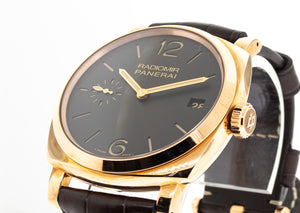 Panerai Radiomir 1940 3 Days Limited Edition 47mm Rose Gold Pam 515-Da Vinci Fine Jewelry