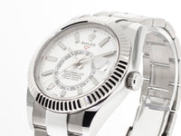 Rolex Skydweller Steel & 18k White Gold 42mm White Dial And Oyster Band 326934-Da Vinci Fine Jewelry