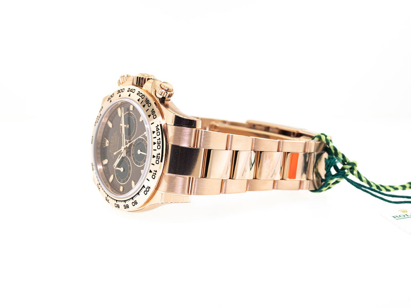 Rolex Daytona Rose Gold 40mm Chocolate Dial 116505-Da Vinci Fine Jewelry