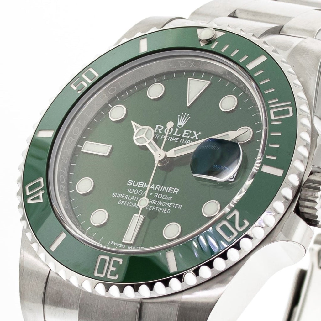 "Rolex Submariner Date ""The Hulk"" 40mm Stainless Steel Green Dial & Green Bezel 116610LV-Da Vinci Fine Jewelry"