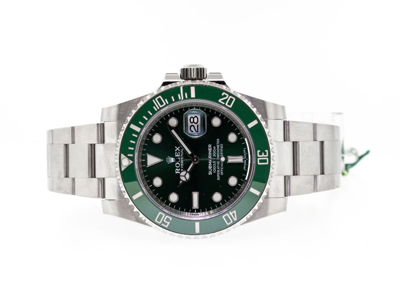 Rolex Submariner Green Dial The Hulk Green Ceramic Bezel 116610LV-Da Vinci Fine Jewelry