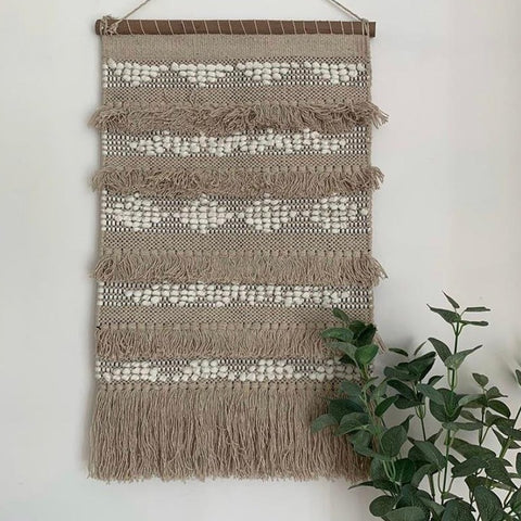 Neutral Boho Wall Hanging