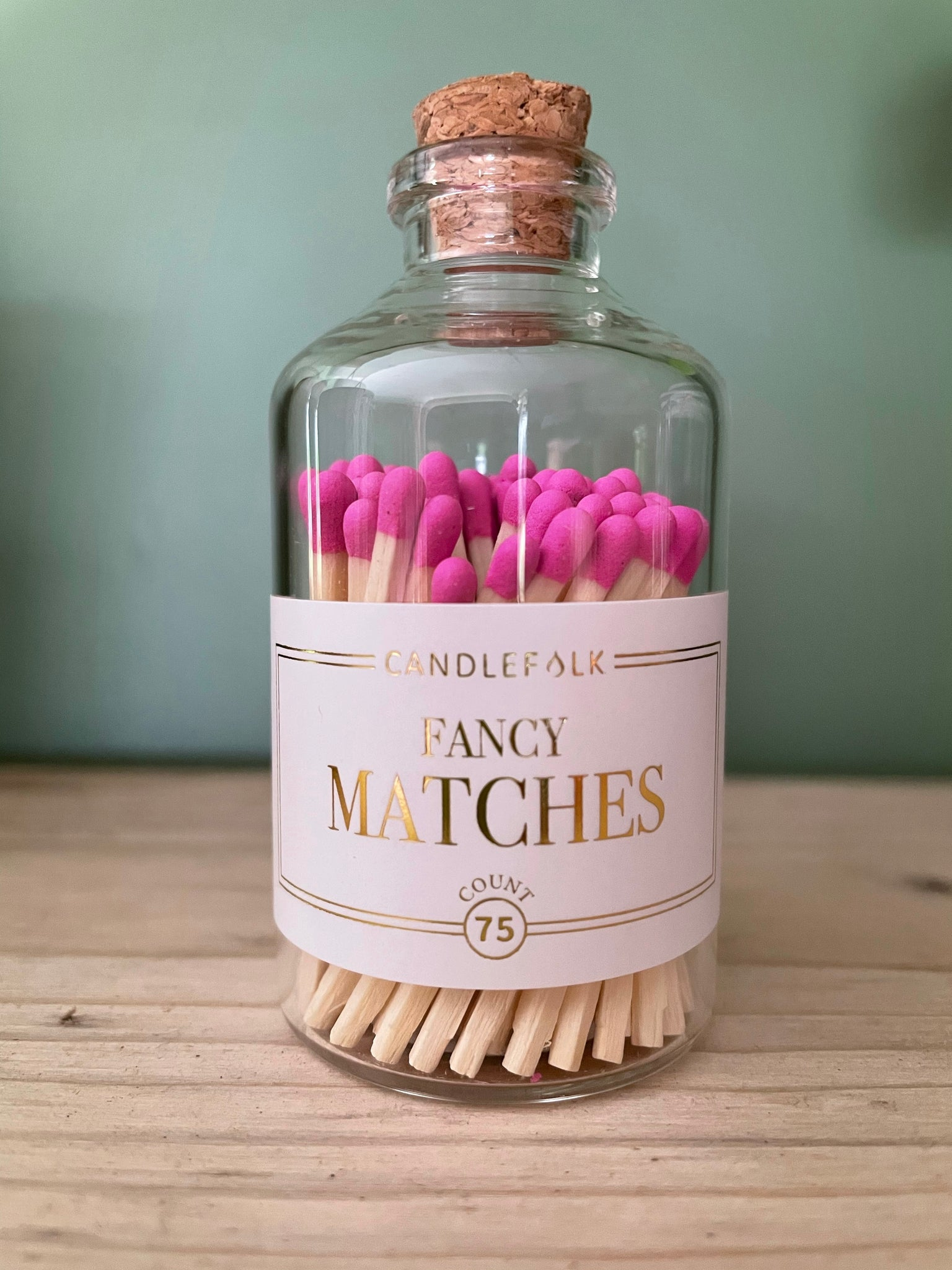 Matches In A Cute Bottle