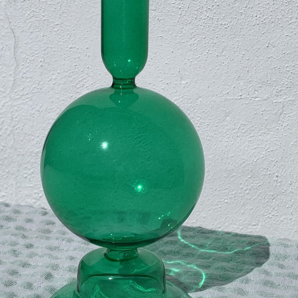 Green Balloon Candlestick