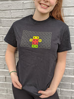 The Robot Garage T-Shirt - Classic Black Horizontal Logo