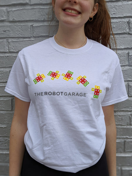The Robot Garage T-Shirt - Tumbling Tibør - SC2016