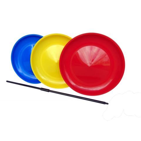 Spinning Plates with Handstick
