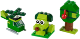 11007 Creative Green Bricks