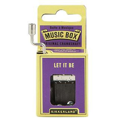 Music Box - Let It Be