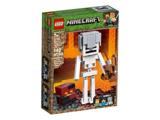 21150 Minecraft Skeleton BigFig with Magma Cube