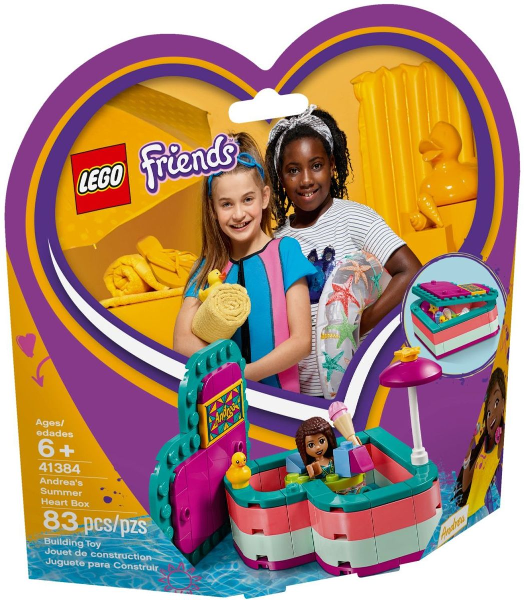 41384 Andrea's Summer Heart Box