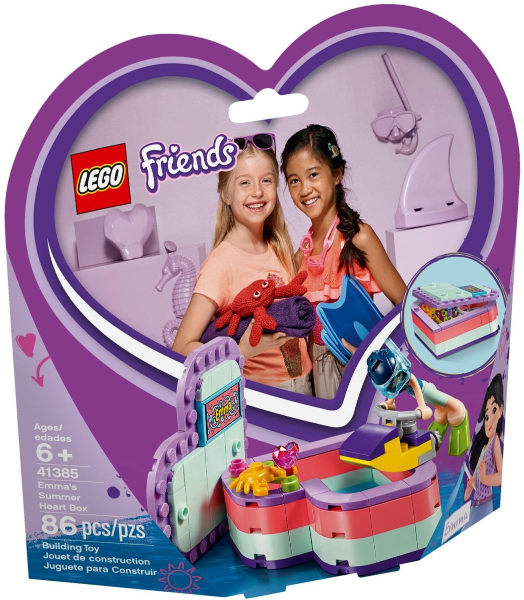 41385 Emma's Summer Heart Box