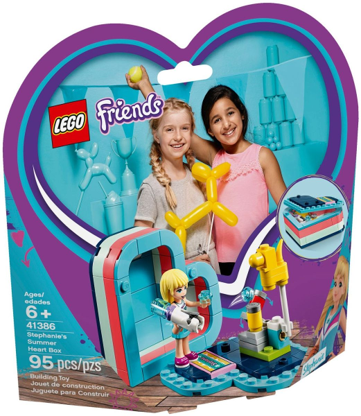 41386 Stephanie's Summer Heart Box