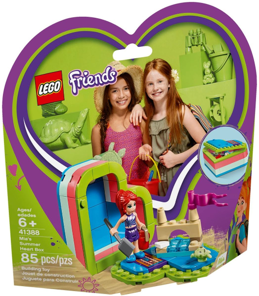 41388 Mia's Summer Heart Box