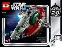 75243 Slave I 20th Anniversary Edition