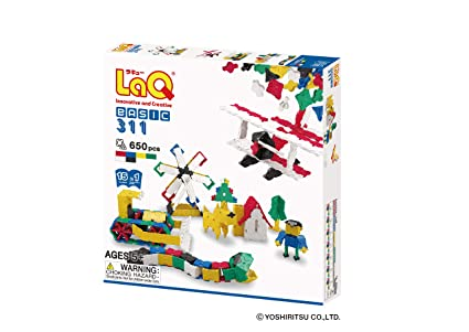 LaQ Basic 311 (650pcs)