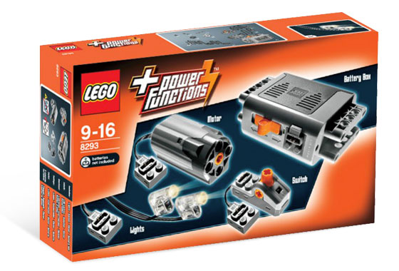 8293 Power Functions Motor Sets - DISCONTINUED