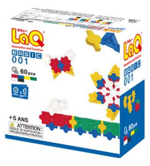 "LaQ Basic 001 ""2D"" (60pcs)"