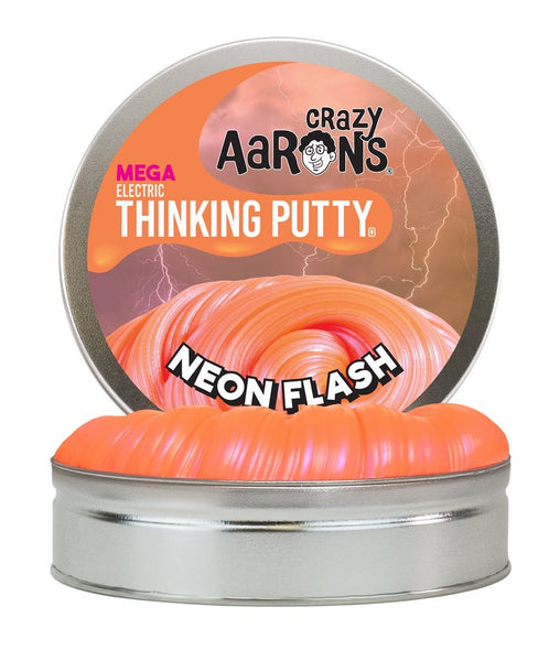 Crazy Aaron's Thinking Putty Neon Flash 1 Pound