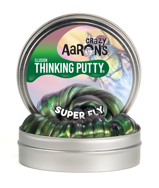 "Crazy Aaron's Thinking Putty - Illusions 4"" Tin"