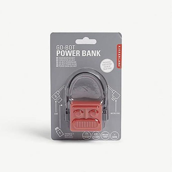 Robot Power Bank - Red