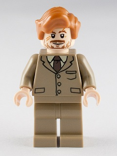 hp130 Professor Lupin - Dark Tan Suit