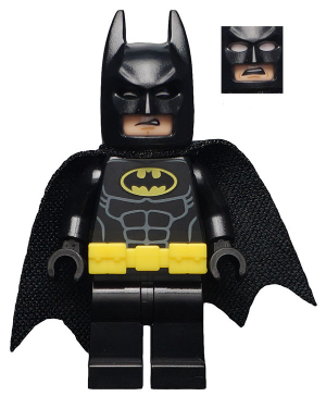 sh329 Batman - Utility Belt Head 3