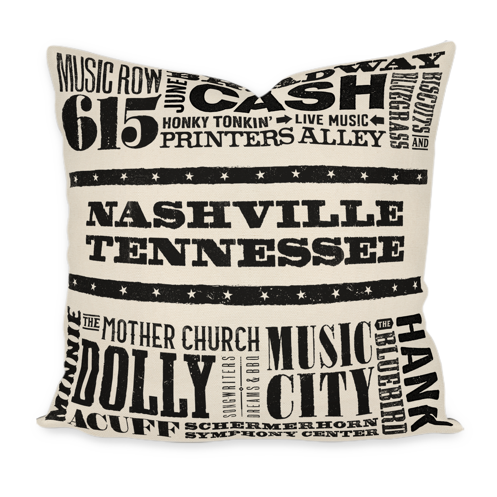 Nashville Pillow Cover