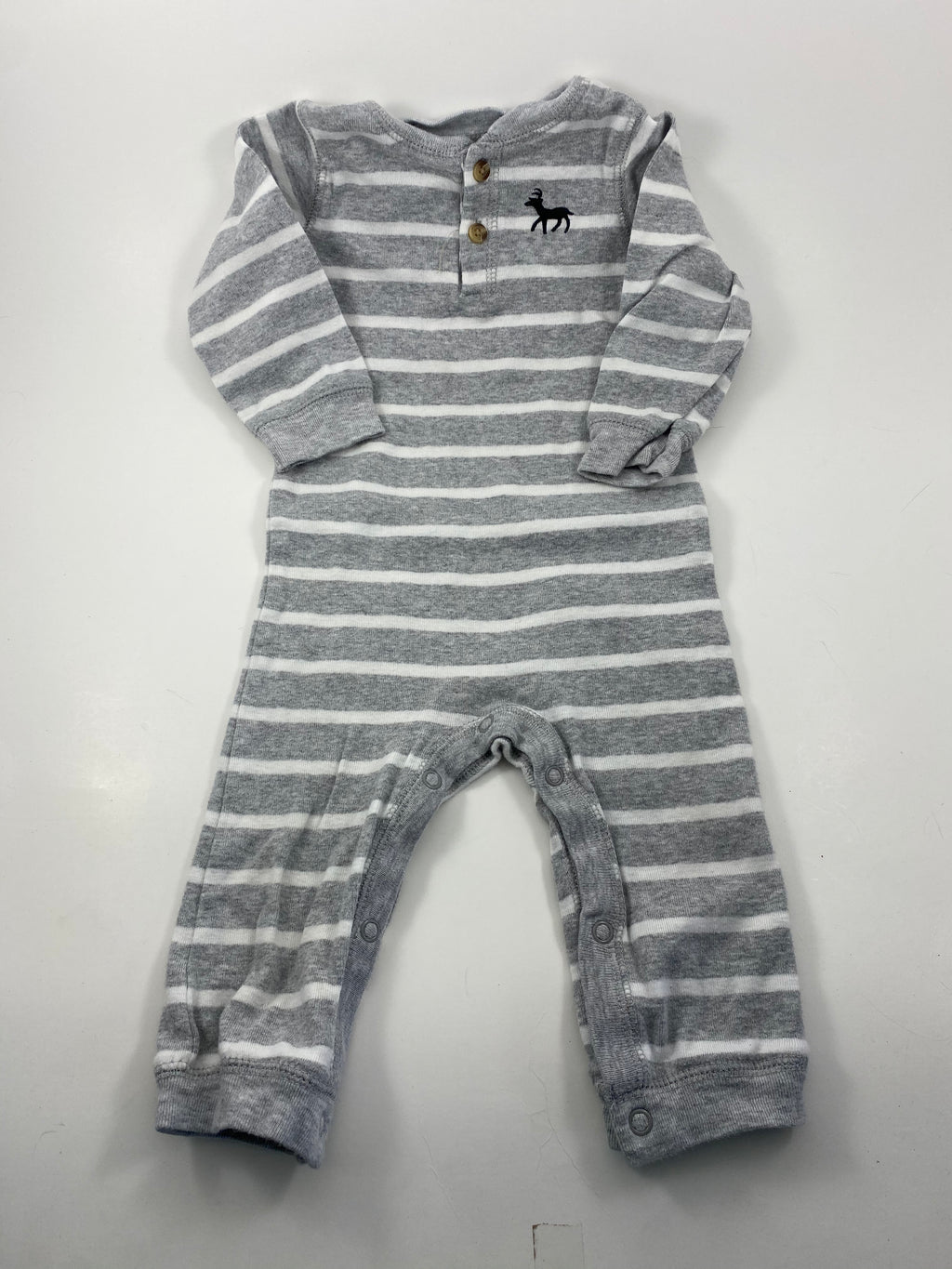 Boy's Long Sleeve Outfit - Size 6-12mo