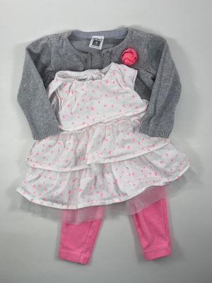Girl's Outfit - Size 6-9mo
