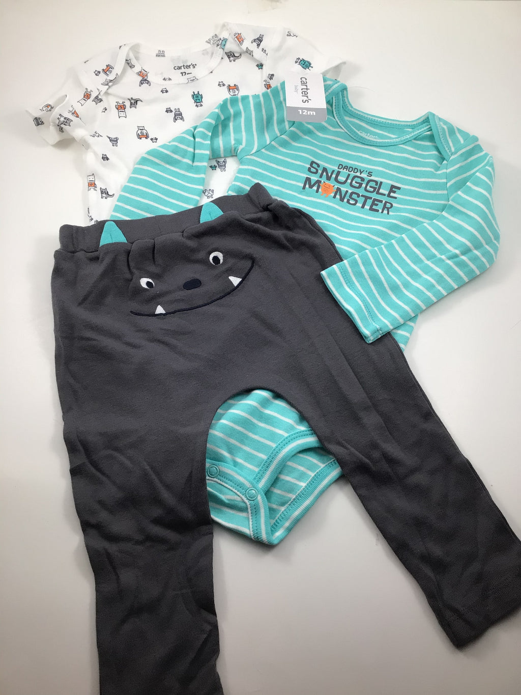Boy's Long Sleeve Outfit - Size 18-24mo