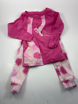 Girl's Long Sleeve Pajamas - Size 3t