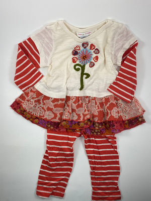 Girl's Outfit - Size 12-18mo