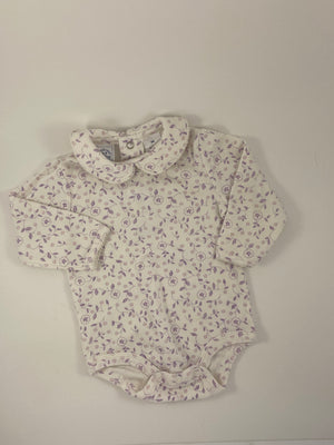Girl's Long Sleeve Bodysuit - Size 6-12mo