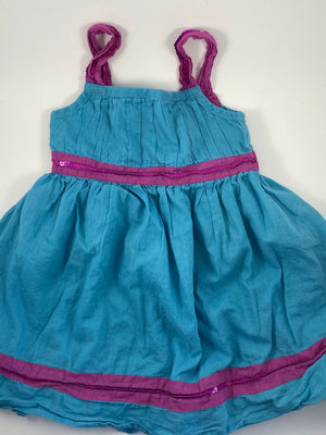 Girl's Short Sleeve Dress - Size 18-24mo