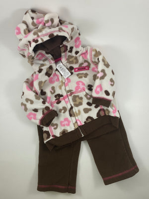 Girl's Long Sleeve Outfit - Size 0-3mo