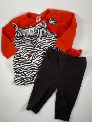 Girl's Outfit - Size 6-12mo
