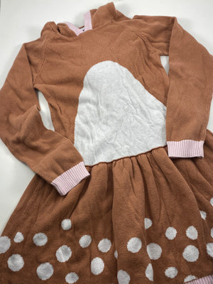 Girl's Long Sleeve Dress - Size 6/7