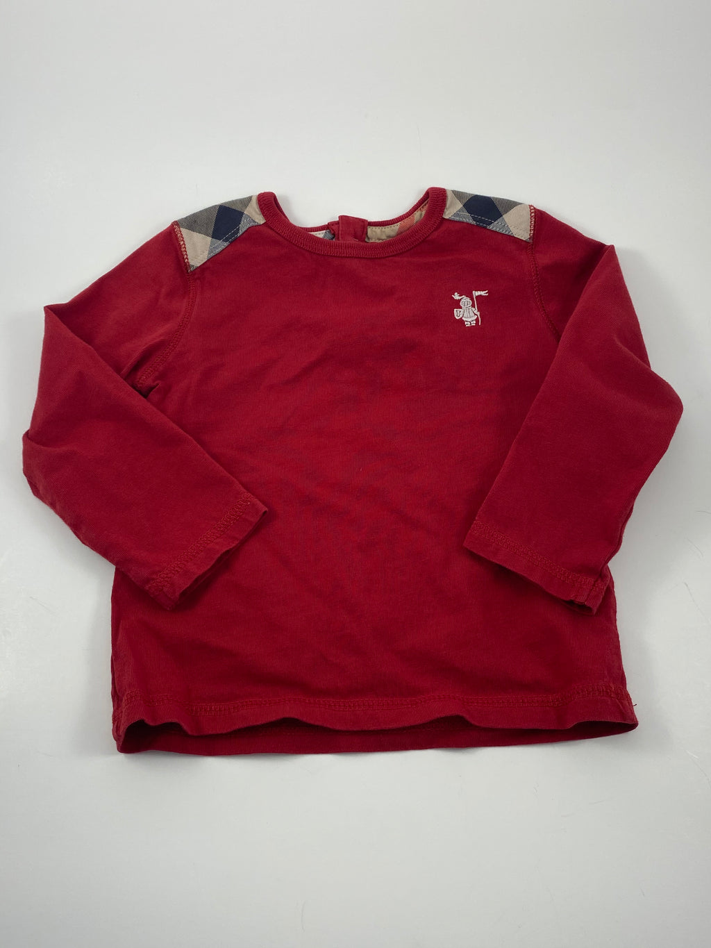 Boy's Long Sleeve Shirt - Size 12-18mo