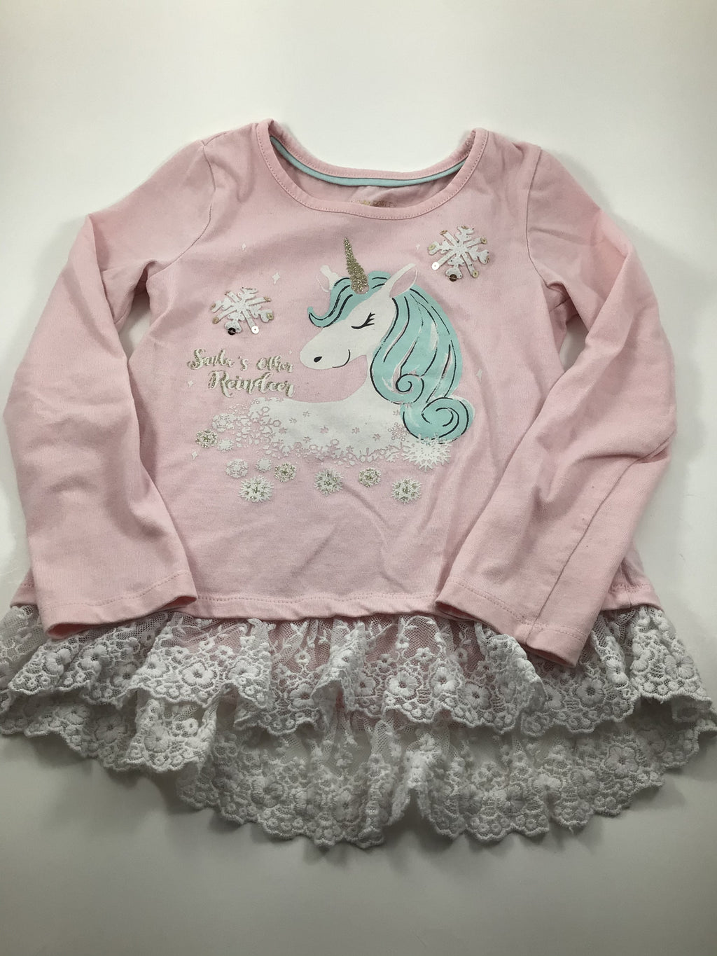 Girl's Long Sleeve Shirt - Size 5/6